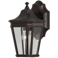 Feiss Cotswold Lane LED Outdoor Wall Lantern in Grecian Bronze OL5400GBZ-LA