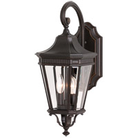 Cotswold Lane LED 21 inch Grecian Bronze Outdoor Wall Lantern in Integrated LED