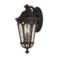 Regent Court 2 Light 18 inch Walnut Outdoor Wall Sconce