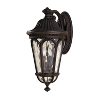 Regent Court 4 Light 25 inch Walnut Outdoor Wall Sconce