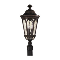 Regent Court 3 Light 24 inch Walnut Post Lantern