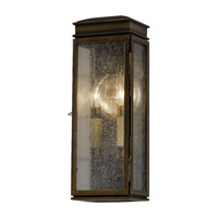 Feiss Whitaker 2 Light Outdoor Wall Bracket in Astral Bronze OL7400ASTB