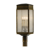 Whitaker 4 Light 25 inch Astral Bronze Post Lantern