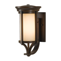 Merrill LED 15 inch Heritage Bronze Outdoor Wall Lantern in Integrated LED