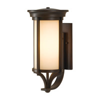 Feiss OL7502HTBZ Merrill 2 Light 20 inch Heritage Bronze Outdoor Wall Bracket in Standard