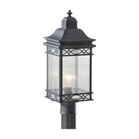 Feiss Liberty 1 Light Post Lantern in Fog OL8007FOG