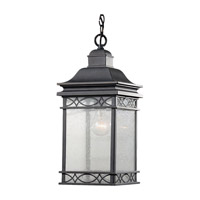 Feiss Liberty 1 Light Outdoor Hanging Lantern in Fog OL8011FOG photo thumbnail