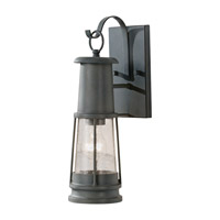 Feiss Chelsea Harbor 1 Light Outdoor Wall Lantern in Storm Cloud OL8100STC-F