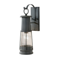 Feiss Chelsea Harbor LED Outdoor Wall Lantern in Storm Cloud OL8101STC-LA