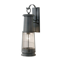 Chelsea Harbor 1 Light 24 inch Storm Cloud Outdoor Wall Lantern in Fluorescent