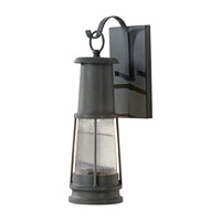 Feiss Chelsea Harbor 1 Light Outdoor Wall Sconce in Storm Cloud OL8200STC