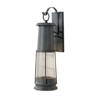Feiss Chelsea Harbor 1 Light Outdoor Wall Sconce in Storm Cloud OL8202STC