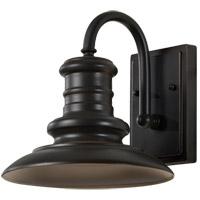Feiss OL8600RSZ/T Redding Station 1 Light 10 inch Restoration Bronze Outdoor Wall Lantern