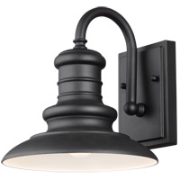 Feiss OL8600TXB Redding Station 1 Light 10 inch Textured Black Outdoor Wall Sconce