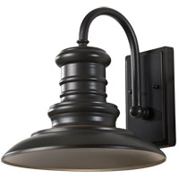 Feiss OL8601RSZ/T Redding Station 1 Light 13 inch Restoration Bronze Outdoor Wall Lantern