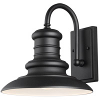 Feiss OL8601TXB Redding Station 1 Light 13 inch Textured Black Outdoor Wall Sconce