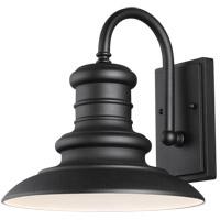 Feiss OL8601TXB/T Redding Station 1 Light 13 inch Textured Black Outdoor Wall Lantern