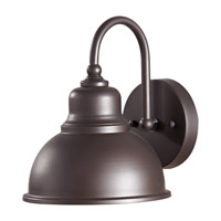 Darby 1 Light 9 inch Oil Rubbed Bronze Outdoor Wall Sconce