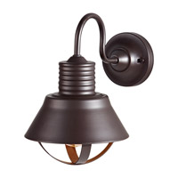 Derek 1 Light 13 inch Oil Rubbed Bronze Outdoor Wall Sconce