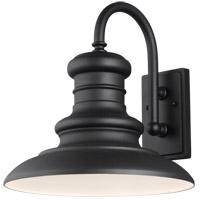Feiss OL9004TXB/T Redding Station 1 Light 16 inch Textured Black Outdoor Wall Lantern