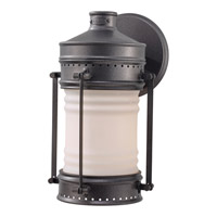 Feiss Dockyard 1 Light Outdoor Wall Sconce in Oil Can OL9101OLC