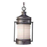 Feiss Dockyard 1 Light Outdoor Hanging Lantern in Oil Can OL9111OLC photo thumbnail