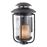 Feiss Menlo Park 1 Light Outdoor Wall Sconce in Textured Black OL9201TXB photo thumbnail