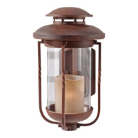 Menlo Park 1 Light 17 inch Cinnamon Outdoor Wall Sconce