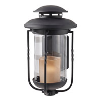 Feiss Menlo Park 1 Light Outdoor Wall Sconce in Textured Black OL9202TXB photo thumbnail