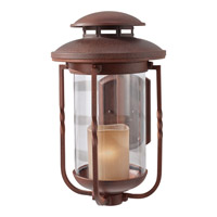Menlo Park 1 Light 19 inch Cinnamon Outdoor Wall Sconce