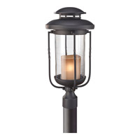Feiss Menlo Park 1 Light Post Lantern in Textured Black OL9208TXB photo thumbnail