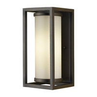 Industrial Moderne 1 Light 12 inch Oil Rubbed Bronze Outdoor Wall Sconce