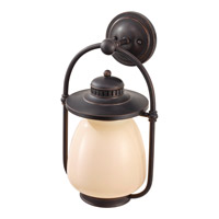 Feiss McCoy 1 Light Outdoor Wall Sconce in Grecian Bronze OLPL7402GBZ