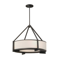 Stelle 4 Light 24 inch Oil Rubbed Bronze Pendant Ceiling Light