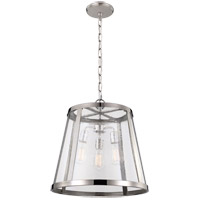 Feiss Harrow 3 Light Pendant in Polished Nickel P1288PN-F
