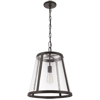 Feiss P1289ORB Harrow 1 Light 16 inch Oil Rubbed Bronze Pendant Ceiling Light