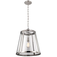Feiss Harrow 1 Light Pendant in Polished Nickel P1289PN