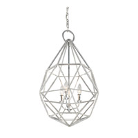 Feiss Marquise 3 Light Pendant in Silver P1312SLV