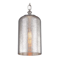 Feiss Hounslow 1 Light Pendant in Brushed Steel P1319BS