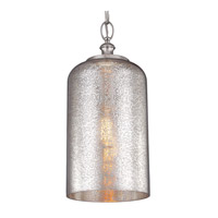Feiss Hounslow 1 Light Pendant in Polished Nickel P1319PN
