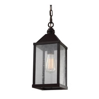 Feiss Lumiere 1 Light Mini-Pendant in Oil Rubbed Bronze P1328ORB-F