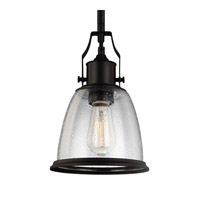 Feiss P1354ORB Hobson 1 Light 8 inch Oil Rubbed Bronze Mini-Pendant Ceiling Light