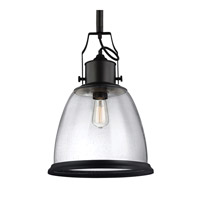 Feiss Hobson 1 Light Pendant in Oil Rubbed Bronze P1356ORB-F