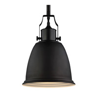Feiss Hobson 1 Light Pendant in Oil Rubbed Bronze P1358ORB