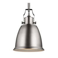 Feiss Hobson 1 Light Pendant in Satin Nickel P1358SN-F