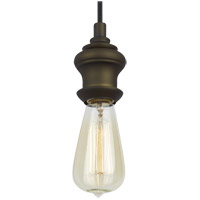 Feiss Corddello 1 Light Mini-Pendant in Dark Aged Brass P1368DAGB