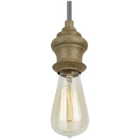 Feiss Corddello 1 Light Mini-Pendant in Driftwood P1368DFW