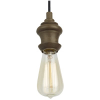 Feiss Corddello 1 Light Mini-Pendant in Weathered Oak P1368WO