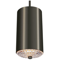 Feiss P1371AGP Botanic 1 Light 6 inch Aged Pewter Mini-Pendant Ceiling Light