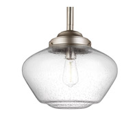 Feiss Alcott 1 Light Pendant in Satin Nickel P1388SN-F
